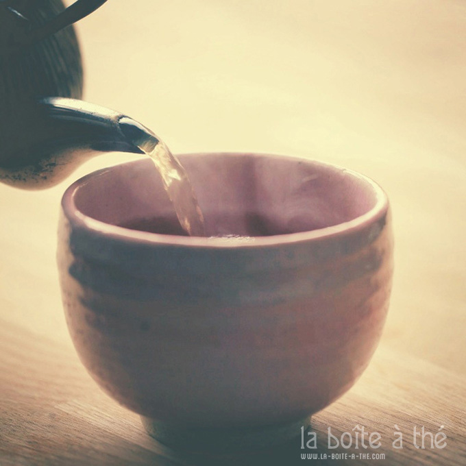 Comment faire un bon thé ? La boîte à thé