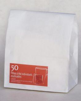 Filtre thé coton