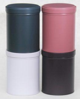 Boîtes à thé 4 couleurs