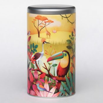 Coffee tin Toucan