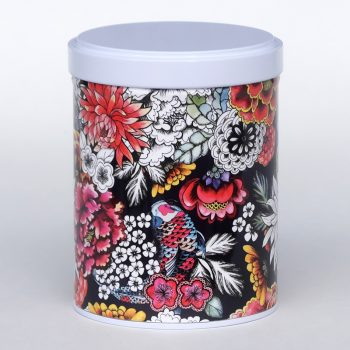 Tea tin Okawa