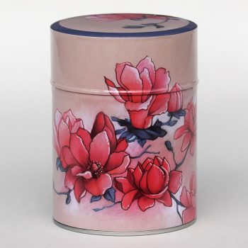 Tea tin Magnolias