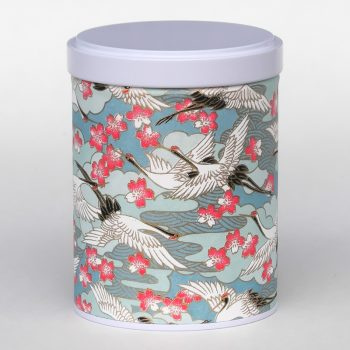 Washi tea tin Kiso