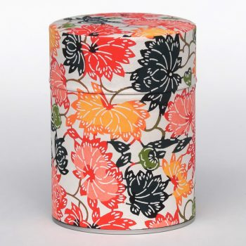 Washi tea tin Kaizu