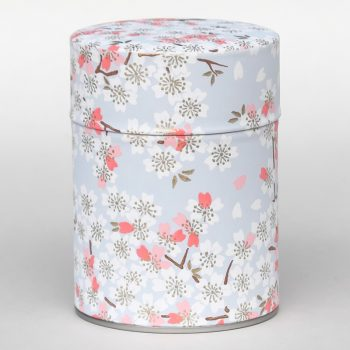 Washi tea tin Minowa