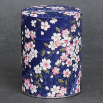 Tea tin washi Kaizu