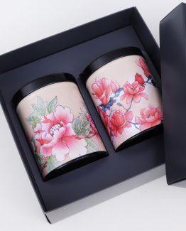 Coffret cadeau pour boîtes à thé