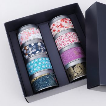 Gift box for tea tins